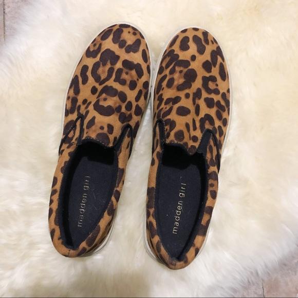 MADDEN GIRL Emmie Leopard Sneakers